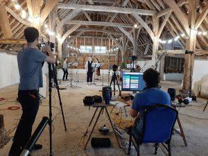 Ensemble Augelletti filming